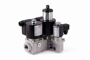 Multiple valve with bypass